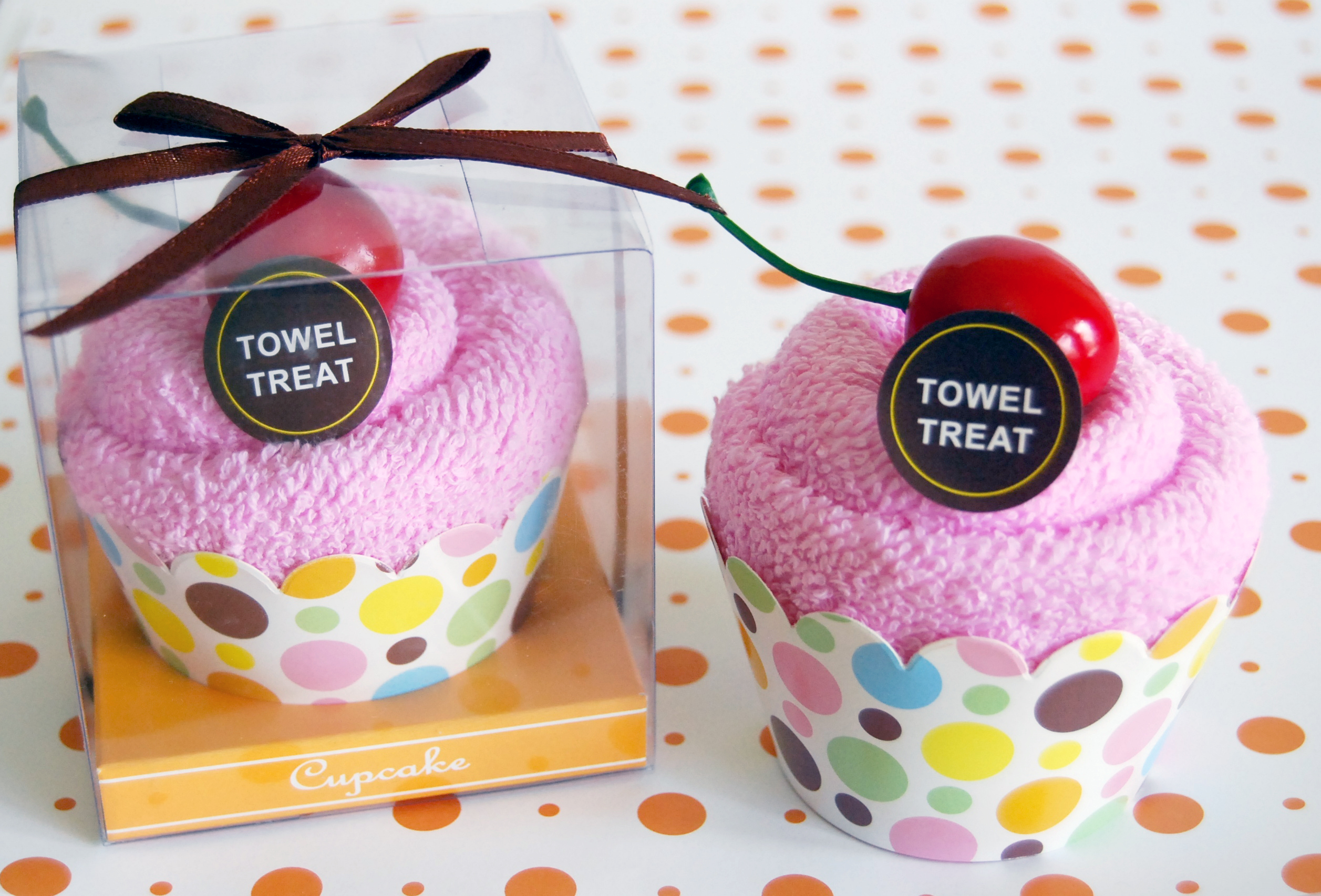 Towel Treats - Cotton towel artfully wrapped to assemble tasteful ...