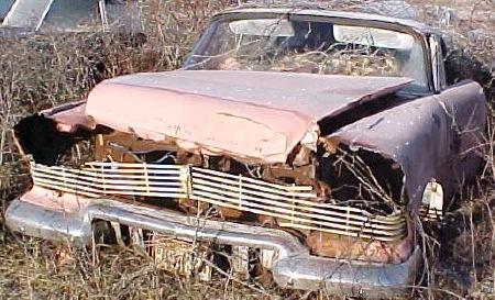 Icq Chat German >> The Christine Car Club • View topic - Junkyard 1957-58s